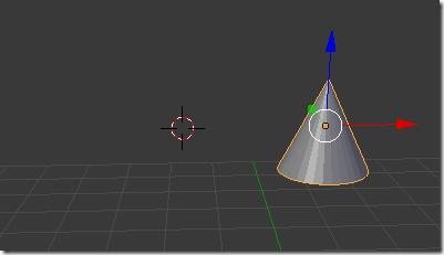 Creamos un objeto en Blender