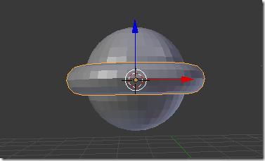 Crear un objeto respecto al centro de otro