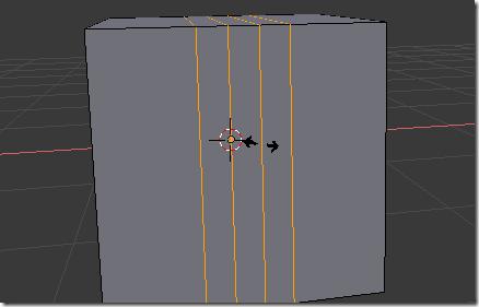 Disminuir la distancia entre los cortes escalando